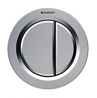 Geberit Pneumatic Push Button For Concealed Cistern (Gloss Chrome) - 116.042.21.1